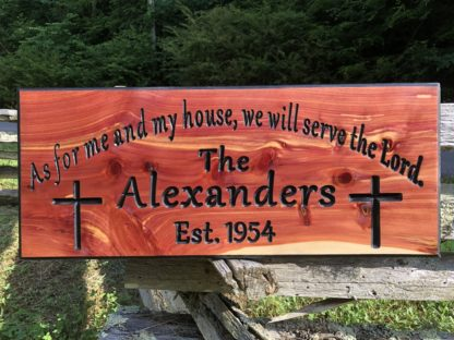 Wooden Signs with Sayings and Scriptures - Custom Made by Wood Signs of Gatlinburg
