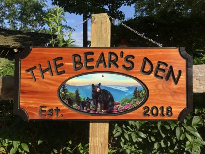Wooden House Plaques - Perfect Personalized Cabin Signs