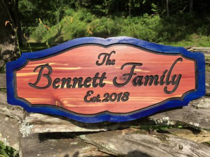 Wooden Signs with Sayings about Family - Custom Personalized Family Name Signs for Home