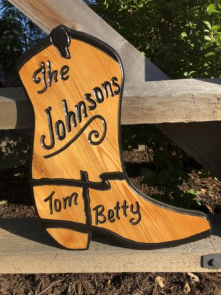 Wooden Business Name Signs - Indoor and Outdoor Custom Engraved Wooden Signs Made to Order