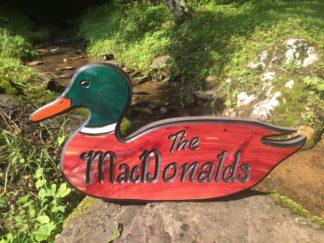 Custom Carved and Painted Signs - Wooden Sign Maker Wood Signs of Gatlinburg