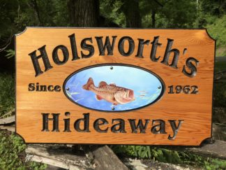 Custom Outdoor Signs Wooden Engraved for Indoors and Outdoors