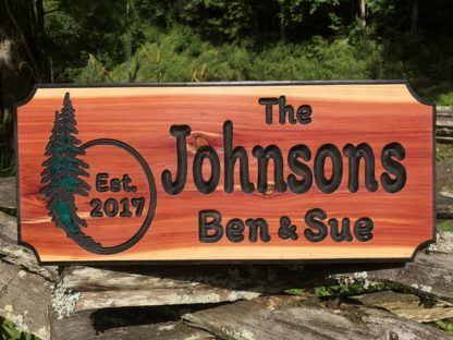 Carved Wooden Signs Made to Order by Wood Signs of Gatlinburg Sign Shop