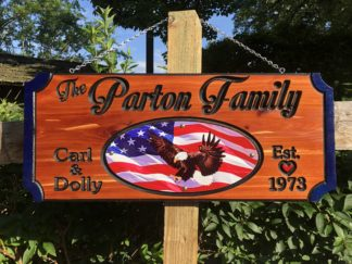 Personalized Wood Plaques and Signs - Made to Order in Gatlinburg TN