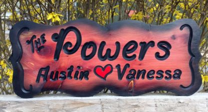 Custom Made Wood Signs - Indoor and Outdoor Personalized Sign Designs