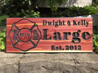 Wooden House Signs Personalized - Indoor and Outdoor Wood Sign Designs