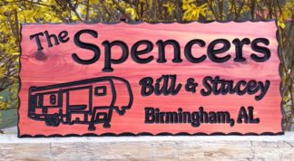 Spencers Wood Sign